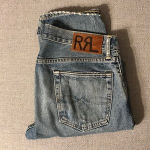 Men's Double RL (RRL) selvedge denim jeans 30x30
